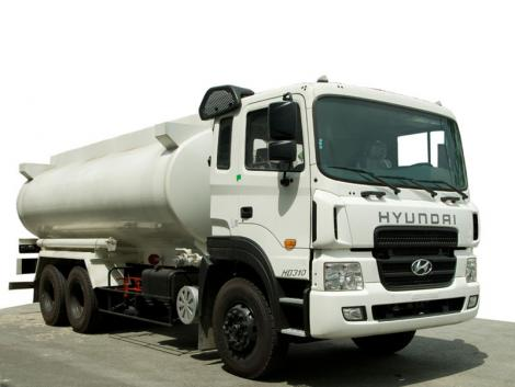 Xe Bồn Dầu Hyundai HD260 15 Tấn