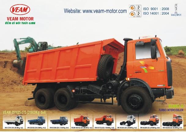 Xe Tải Ben VEAM 20 Tấn - VM 551605