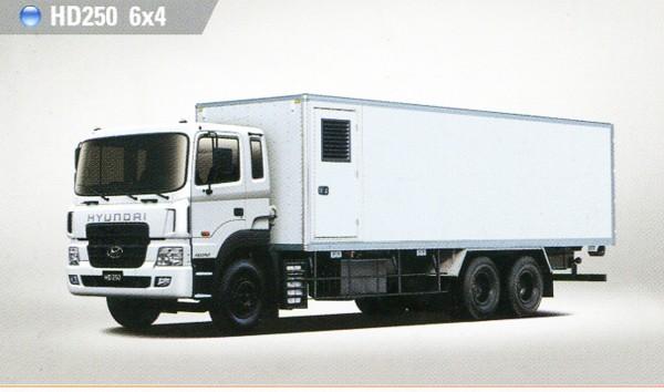 Xe Tải Hyundai 14T HD250 Thùng Kín