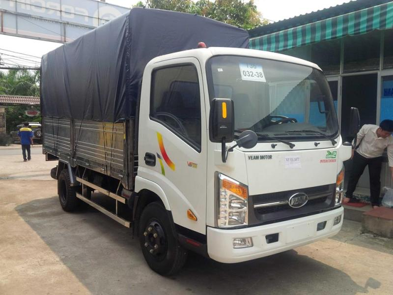 Xe Tải VEAM VT200 Thùng Mui Bạt