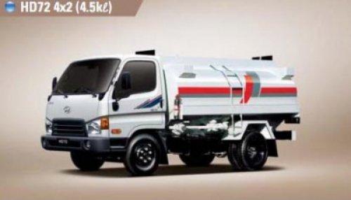 Xe bồn Hyundai HD65 bồn xăng