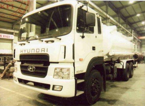 Xe bồn chở nhiên liệu Hyundai HD260 - 14m3