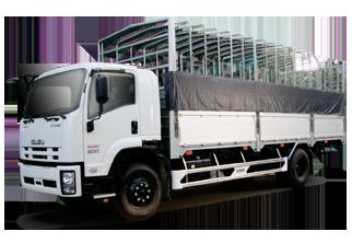 Xe tải ISUZU 5.5 Tấn Thùng Mui Bạt
