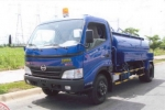 Xe bồn Hino WU442 - bồn hút chất thải 5m3