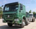 Xe tải Howo T5G 340 đầu cao